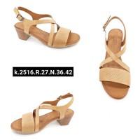 ---НА ЕДРО--- Дамски сандали модел 2516