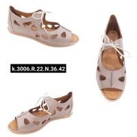 ---НА ЕДРО--- Дамски сандали модел 3006