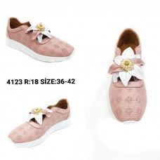 ---НА ЕДРО--- Дамски спортни обувки модел 4123